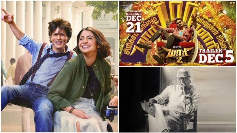 Shah Rukh Khan's Zero To Face More Competition on December 21; Four Big Tamil Movies, Starring Dhanush, Vijay Sethupathi Clashing on Same Day!