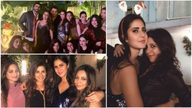 'Zero' Actress Katrina Kaif's Christmas Party Is a Starry Hit Thanks to Kareena Kapoor Khan, Arjun Kapoor, Malaika Arora, Gauri Khan – View Pics