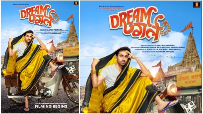 Dream Girl First Look! Ayushmann Khurrana Looks Pretty in a Saree And We Wonder if Ranveer Singh Will Get Inspired By Him