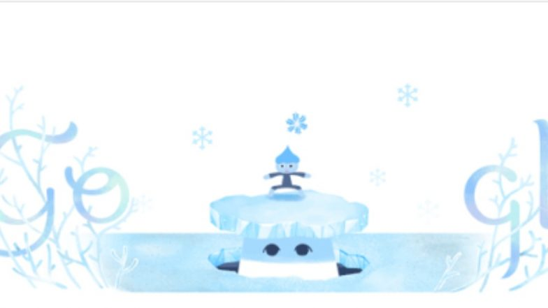 Winter Solstice 2018: Google Doodle Marks Shortest Day of the Year in Northern Hemisphere