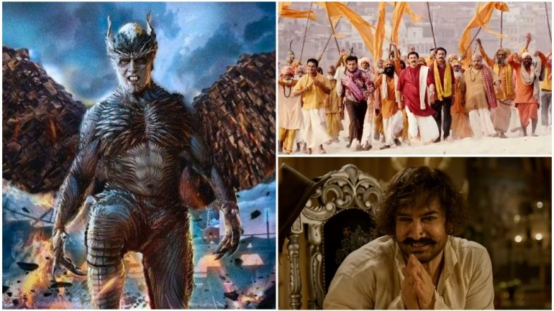 Akshay Kumar-Rajinikanth's 2.0, Aamir Khan-Katrina Kaif's Thugs of Hindostan - If November 2018 Movies Had Honest Titles! View Posters