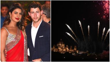 Priyanka Chopra's Hypocrisy Exposed! Massive Fireworks at the Actress' Umaid Bhawan Palace Wedding to Nick Jonas Is Contradicting Her Pollution-Free Diwali Ad Video!