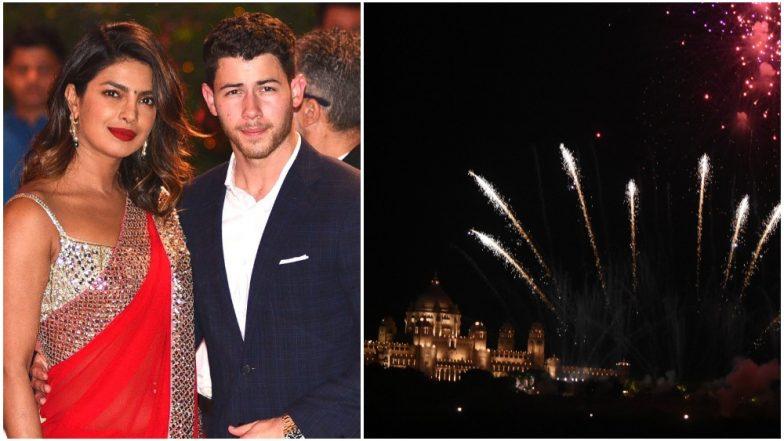 Priyanka Chopra's Hypocrisy Exposed! Massive Fireworks at the Actress' Umaid Bhawan Palace Wedding to Nick Jonas Is Contradicting Her Pollution-Free Diwali Ad Video!