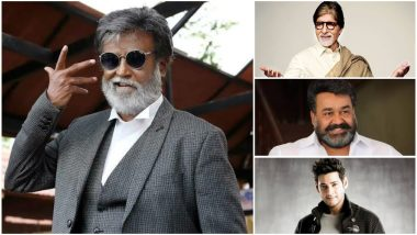 Rajinikanth Turns 68! Amitabh Bachchan, Mohanlal, Mahesh Babu, Dhanush Wish Thalaiva on His Birthday - Read Tweets