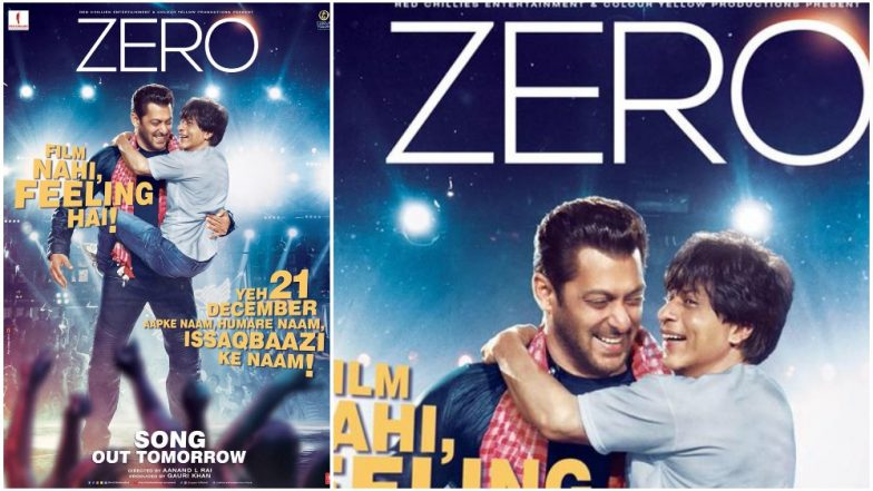 Stop Press! Shah Rukh Khan and Salman Khan's Iconic Song 'Issaqbaazi' From Zero Will Release Tomorrow