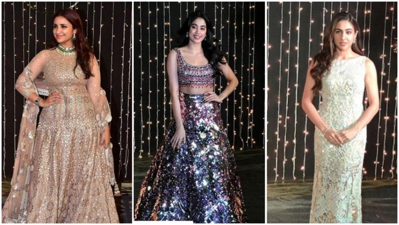 Priyanka Chopra - Nick Jonas Reception Worst Dressed: Sara Ali Khan, Janhvi Kapoor and Parineeti Chopra Made us Cringe With Their #OOTNs