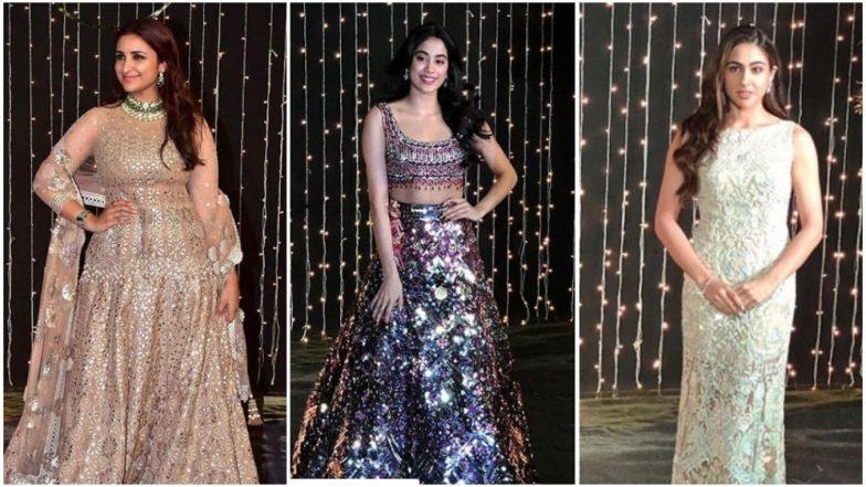 Priyanka Chopra - Nick Jonas Reception Worst Dressed: Sara Ali Khan, Janhvi Kapoor and Parineeti Chopra Made us Cringe With Their #OOTNs