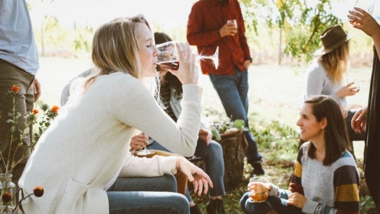 Binge Drinking in Students Linked to Social Media Addiction