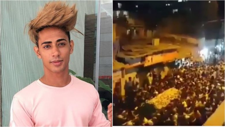 Danish Zehen's Funeral Procession in Mumbai Attended by Thousands, Video Goes Viral