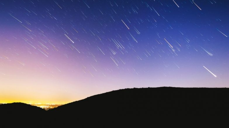 Final meteor shower of 2018 goes next weekend