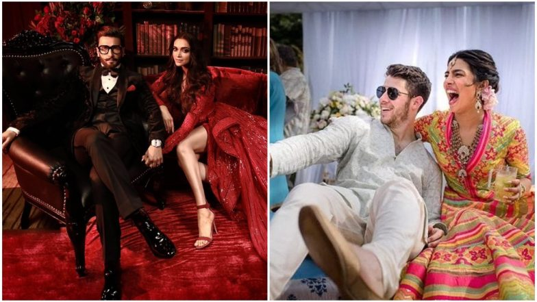 Deepika Padukone-Ranveer Singh Holding Wedding Reception On The Same Day as Priyanka Chopra-Nick Jonas Wedding is Making Twitter Go LOL - Read Tweets
