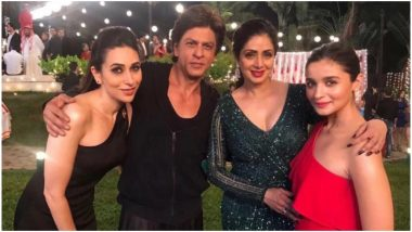 Shah Rukh Khan Opens Up About Sridevi's Cameo in Zero and It is Truly Touching! Watch Video