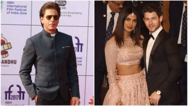 Shah Rukh Khan and Priyanka Chopra Exchange Pleasantries At a Recent Event, Should We Expect Don 3 On Cards?