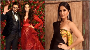 Katrina Kaif on Bonding With Deepika Padukone at Her Reception: There Are Some Moments Which Are Too Special and Private to Talk About