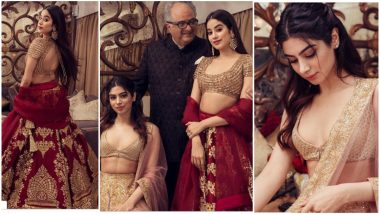 Isha Ambani – Anand Piramal Wedding: Janhvi Kapoor and Khushi Kapoor's Ethereal Avatar Will Make You Say 'Pretty Women'