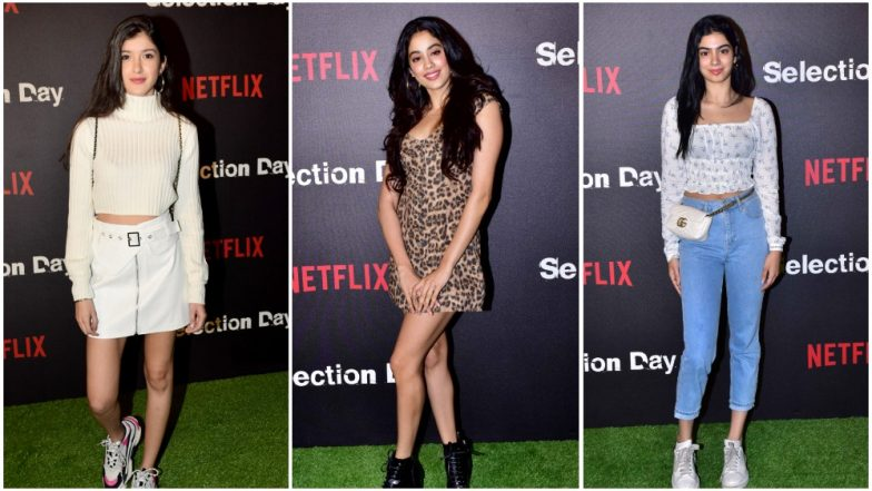 f75643ec406 Janhvi, Khushi and Shanaya Step Out Wearing The Most Casual Attires and The  Result is
