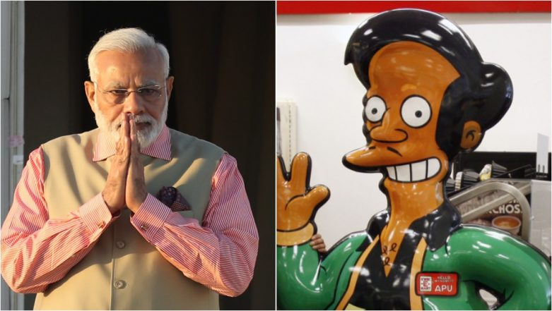 PM Narendra Modi Compared to Simpsons Character Apu on Arrival in Argentina for G20 Summit, Twitterati Terms It Racism