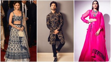 Isha Ambani - Anand Piramal Wedding: Sonam Kapoor, Alia Bhatt and Shahid Kapoor's Style Statements Get a Thumbs Up - View Pics