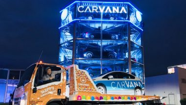 Carvana's Seven-Storey Car Vending Machine Opens in Indianapolis! (See Pics)