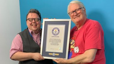 Charles Martinet, the Voice Behind Mario Receives Guinness World Record for 100 Mario Video Game Voiceovers (Watch Video)