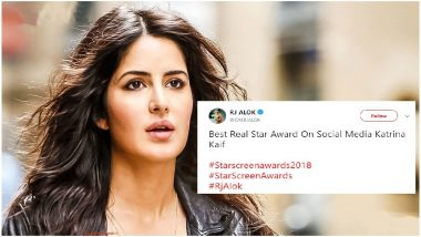 Star Screen Awards 2018: Katrina Kaif Gets 'Best Real Star Award on Social Media' and Twitterati is Figuring Out What It Means - Read Tweets