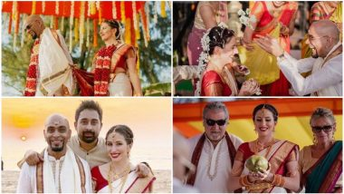 MTV Roadies Fame Raghu Ram Marries Girlfriend Natalie Di Luccio In a Beautiful Ceremony in Goa - View Pics