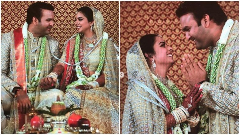 Isha Ambani and Anand Piramal Make for a Gorgeous Couple in These First Pictures From Their Wedding Ceremony