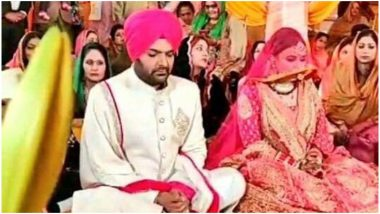 Kapil Sharma and Ginni Chatrath Tie the Knot in Gurudwara As Per Sikh Traditions - View Pics