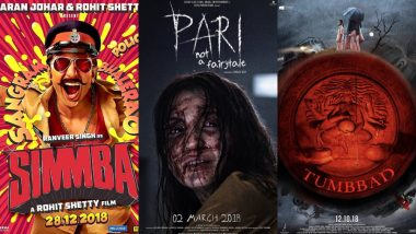 Sohum's Tumbbad, Ranveer's Simmba, Anushka's Pari: The Best Movie Posters of 2018 That Had Us at Hello – View Pics