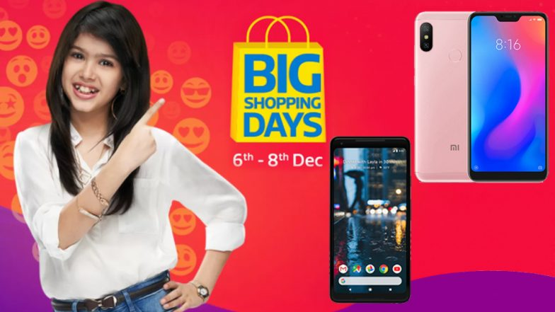Flipkart Big Shopping Days 2018 Sale: Smartphones With Huge Discounts; Xiaomi Redmi Note 6 Pro, Realme C1, Poco F1 & More