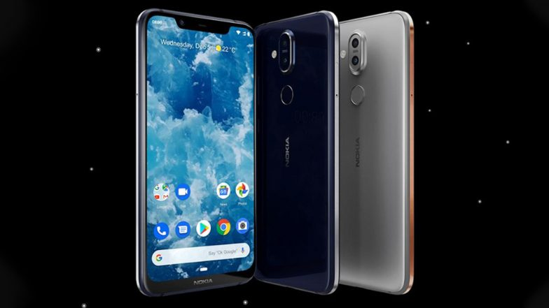HMD launches the Android Pie sporting Nokia 8.1
