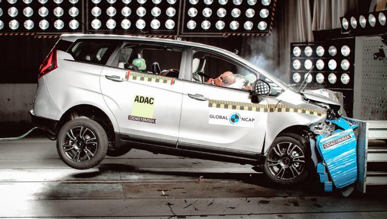 Mahindra Marazzo MPV Bags 4-Star Safety Rating at Global NCAP Crash Test