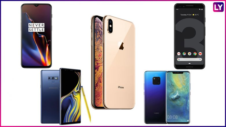 Best Five Smartphones Launched During 2018 in India; Apple iPhone XS Max, Google Pixel 3, OnePlus 6T, Samsung Galaxy Note 9 & Huawei Mate 20 Pro