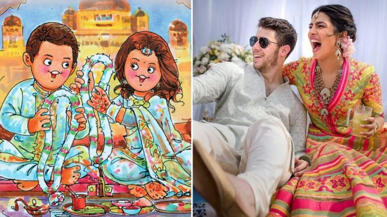 Nick Jonas, Priyanka Chopra hold second wedding ceremony