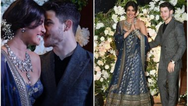 Priyanka Chopra Introduces Nick Jonas as Her Husband While He Makes Guests Smile With His Speech at Their Wedding Reception in Mumbai (Watch Video)