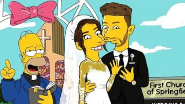Priyanka Chopra and Nick Jonas' Wedding in The Simpsons' World! This Artwork Is Going Viral on Instagram