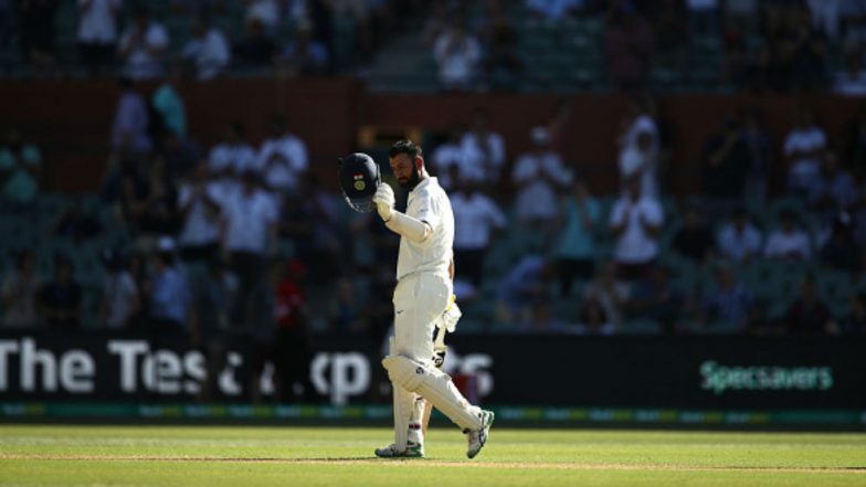 Cheteshwar Pujara Scores Century on the Opening Day of Adelaide Test, Completes 5000 Runs to Join Rahul Dravid on This List
