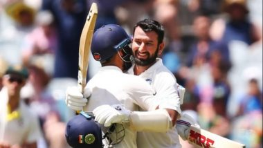 Cheteshwar Pujara WARNS Australia After Stumps on Day 2, 'India Have Enough Runs, Not an Easy Pitch to Bat On' (Watch Video)