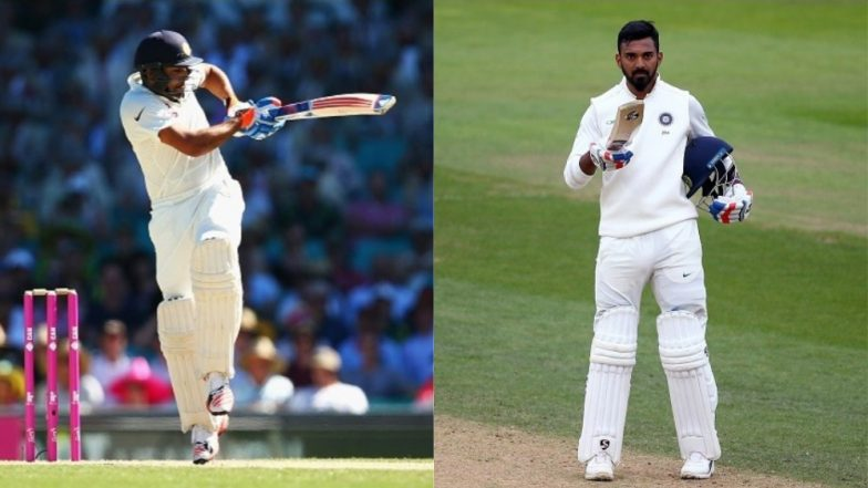Rohit Sharma or KL Rahul Who Should India Pick in Playing XI as an Opener for the First Test vs Australia