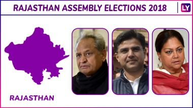 Rajasthan Assembly Elections 2018 Winners List: Check Constituency-Wise Names of Elected MLA Candidates From Congress, BJP, Others