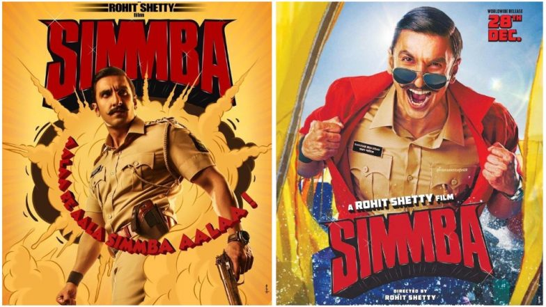 These New Posters of Ranveer Singh's Simmba Are Making Us Impatient for the Film's Trailer