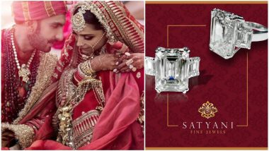 Deepika Padukone Wanted a Simple Design for Her Wedding Ring That Will Flaunt Her Solitaire Further - View Pic
