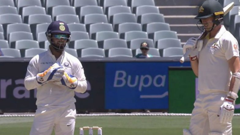 Rishabh Pant Sledges Pat Cummins; Stump Mic Catches Indian Wicketkeeper's Funny Comments, Watch Video