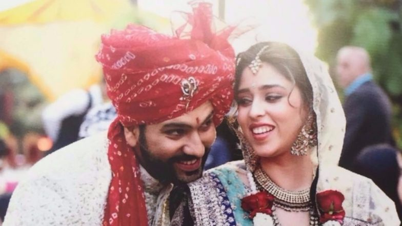 Rohit Sharma and Ritika Sajdeh Become Proud Parents to a Baby Girl; Netizens Can't Keep Calm