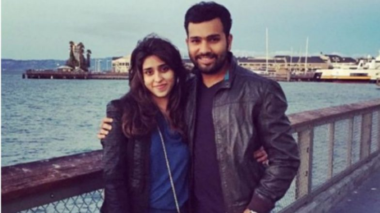 Ritika Sajdeh Pregnant! Rohit Sharma and Ritika All Set To Welcome Their First Baby! (Watch Video)