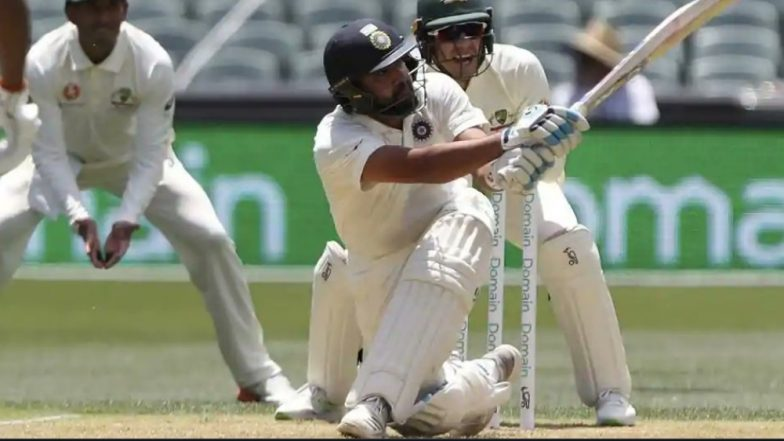 Rohit Sharma Gets Out After Hitting a Reckless Shot During India vs Australia 2018, 1st Test (Watch Video Highlights)