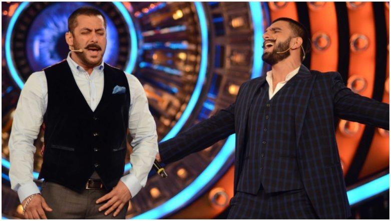 Bigg Boss 12: Ranveer Singh and Salman Khan to Groove On 'Aankh Maarey' From Simmba – Deets Inside