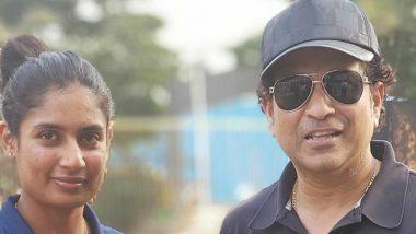 Mithali Raj Birthday: Sachin Tendulkar Takes to Twitter to Wish the Senior India Woman Cricketer on Her 36th Birthday