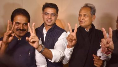 Rajasthan Assembly Elections 2018 Results Highlights: Ashok Gehlot or Sachin Pilot? Rahul Gandhi to Take Final Call on CM-Designate Tomorrow