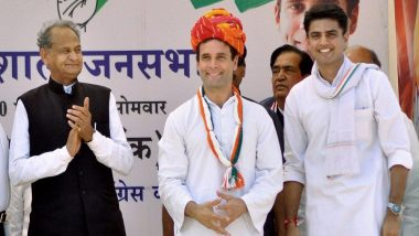 Rajasthan Votes Out BJP, Congress Yet to Choose Between Sachin Pilot and Ashok Gehlot For Next Chief Minister's Post